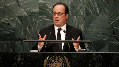 """François Hollande exige acciones inmediatas para detener la guerra en Siria y al Estado Islámico: """"Basta quiere decir basta"""""""