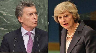 Malvinas: Londres desmiente a Macri y asegura que May no habl� con �l de soberan�a