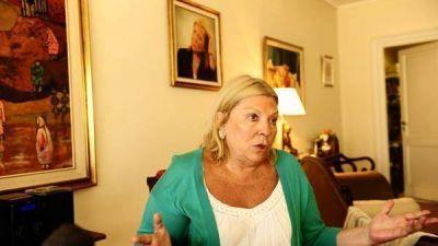 Carrió contra Scioli: pide investigar la plata del juego en la Provincia