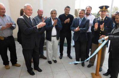 Inauguraron obras en Mauricio Mayer