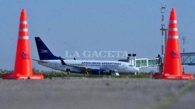 Dietrich destacó los trabajos que se hicieron en el aeropuerto de Tucumán