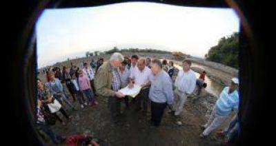 En el sur de la provincia continúan los trabajos para prevenir inundaciones