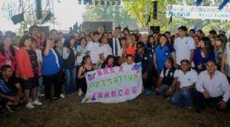 Manzur celebr� el D�a de la Sanidad junto a trabajadores de ATSA