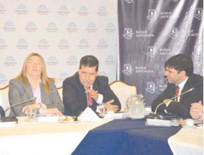 Bossio: �es una deuda hist�rica que tiene la Naci�n con La Rioja�