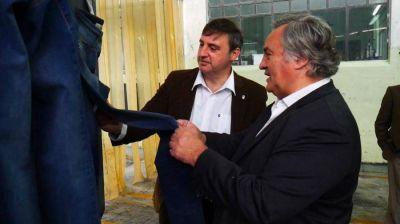 Funcionarios de la Producci�n visitaron el Partido de Luj�n