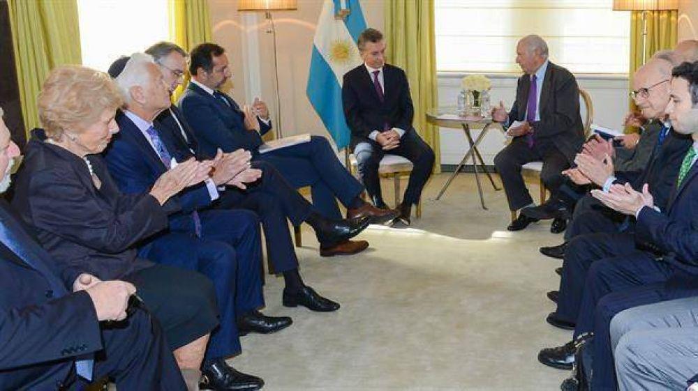 Líderes judíos se reunieron en Nueva York con el presidente Macri