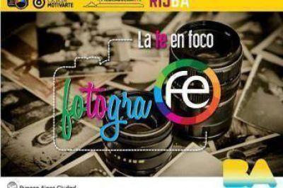 """Concurso de fotografía """"FotograFe: La Fe en foco"""" en la ciudad de Buenos Aires"""