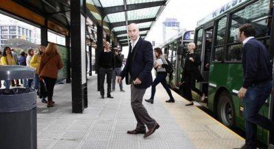 Como Vidal, Larreta también prevé implementar el boleto estudiantil gratuito