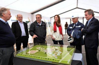 De visita en Bah�a, Vidal responsabiliz� al sciolismo por la situaci�n de ABSA