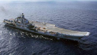 Putin mueve al Mediterr�neo un poderoso portaaviones