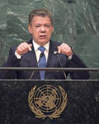 Santos dijo que la guerra se terminó