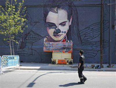 Paredes con estilo: los murales que cambiarán la imagen de La Boca