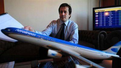 Imputan a Mariano Recalde por la firma de convenios entre Aerol�neas Argentinas y Sol