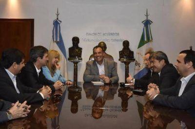 Reforma de la ley electoral: reunión de Daniel Capitanich con Adrián Pérez