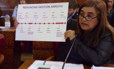 �Ya renunciaron 17 funcionarios en el gobierno de Arroyo�