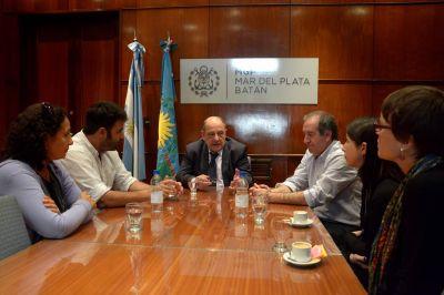 El Intendente recibi� a representantes del Banco Mundial