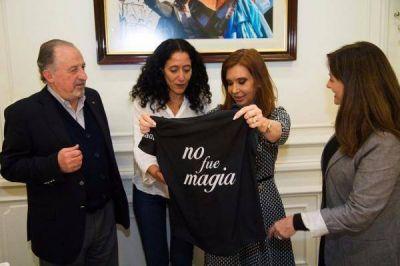 Cristina continúa la rosca política en la Capital