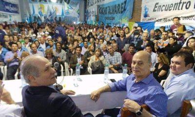 Vidal apoy� una fiesta peronista del Momo Venegas, Osvaldo M�rcuri y Cacho �lvarez