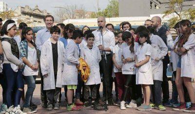 Lanzan el boleto estudiantil gratuito en la Ciudad