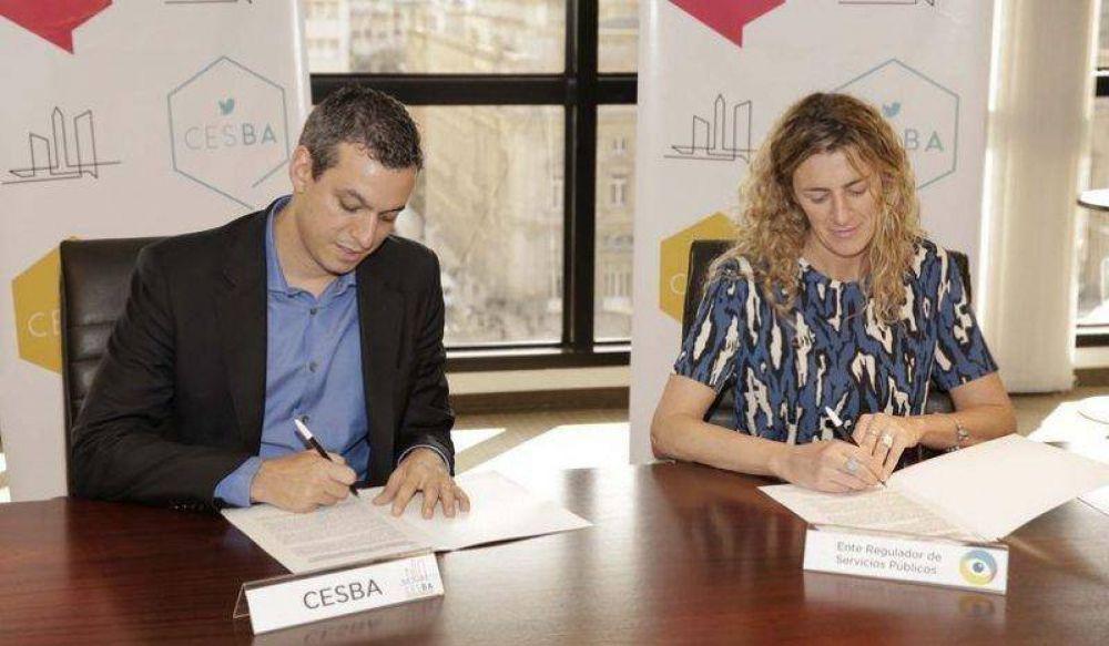 CESBA y Ente de la Ciudad acuerdan acciones en común