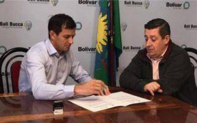 Bali Bucca y N�stor �lvarez firmaron convenio entre municipios