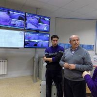 Presentaron nuevas c�maras para el monitoreo urbano