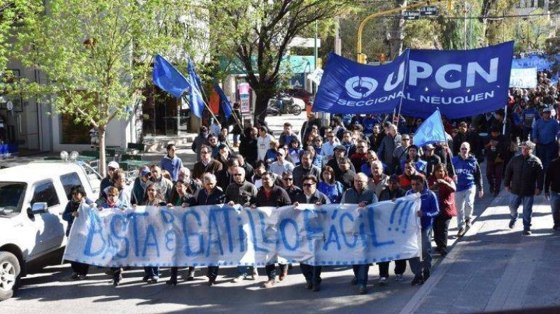 El repudio por el accionar policial uni� a los gremios