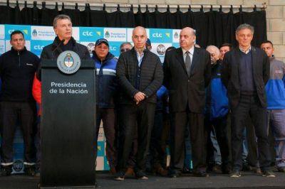 Macri inauguró el Centro de Transferencia de Cargas