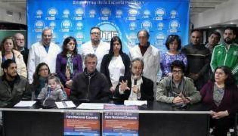 Los docentes porteños se suman al paro nacional del 27