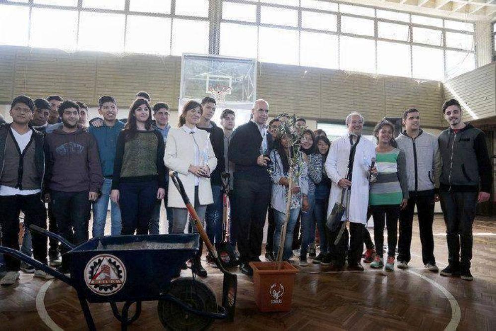 Larreta participó del cierre del programa Scholas Ciudadanía