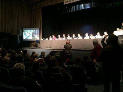 Se realizó la primera audiencia pública por obras en el Río Salado