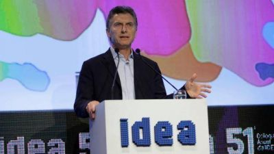 Macri abrir� el pr�ximo Coloquio de IDEA en Mar del Plata