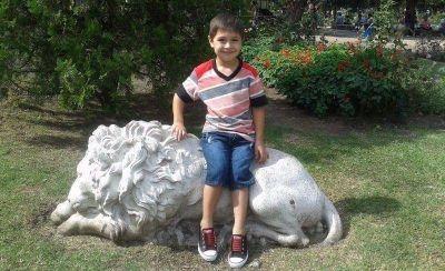 Thiago Joel Franco, el nene atropellado por