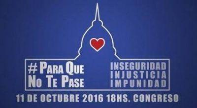 Mar del Plata se suma a la iniciativa contra la inseguridad, injusticia e impunidad