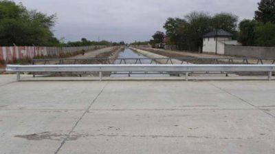 Habilitaron el puente del Desag�e Pluvial Sur (DPS)