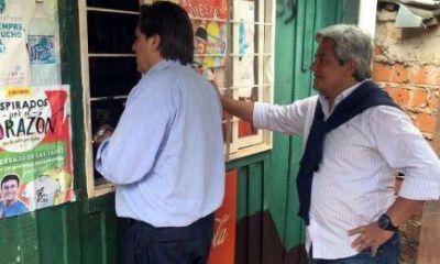 """Dirigentes de Cambiemos llevaron el """"Timbreo Nacional"""" a la Chacra 17"""