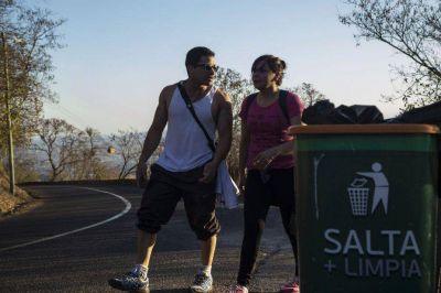 Piden cestos de residuos para el cerro San Bernardo
