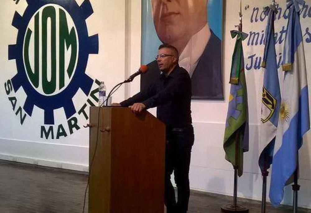 Osvaldo Lobato asumió al frente de la UOM