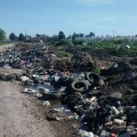Preocupa la proliferaci�n de microbasurales en Las Am�ricas
