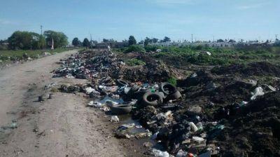 Preocupa la proliferación de microbasurales en Las Américas