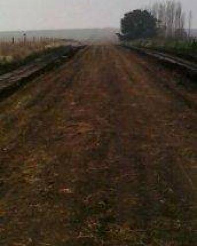 Arreglo de caminos rurales
