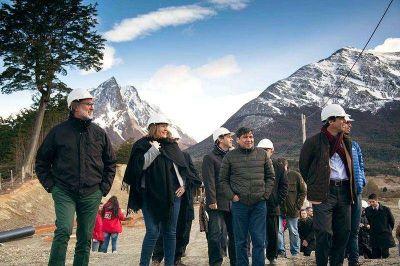 Bertone anunci� el fin de la contaminaci�n de la Bah�a Encerrada