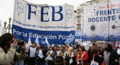 Petrocini: �No queremos hacer paro, queremos estar en las escuelas�