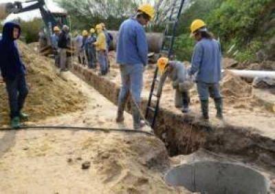 Obras cloacales para tres barrios de Paraná