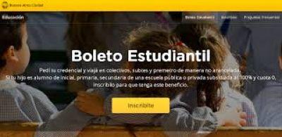 Boleto Estudiantil: a quiénes incluye y cómo tramitarlo