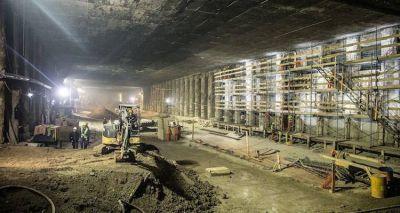 Subte: avanzan obras de infraestructura para el mantenimiento de la flota