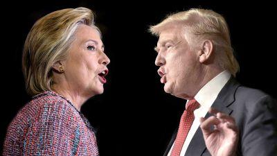 Llegó la hora: Hillary Clinton y Donald Trump, ante el debate presidencial más esperado de la historia de Estados Unidos