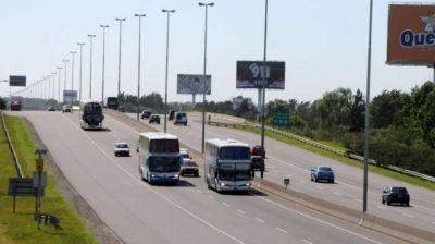 Comenzó la remodelación de la bajada de la autopista Buenos Aires-La Plata