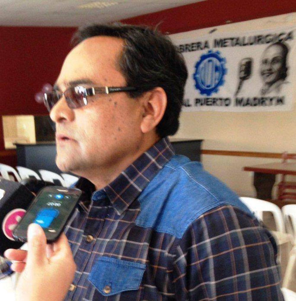 Painemán asumió como nuevo Secretario General de UOM en Puerto Madryn y Trelew