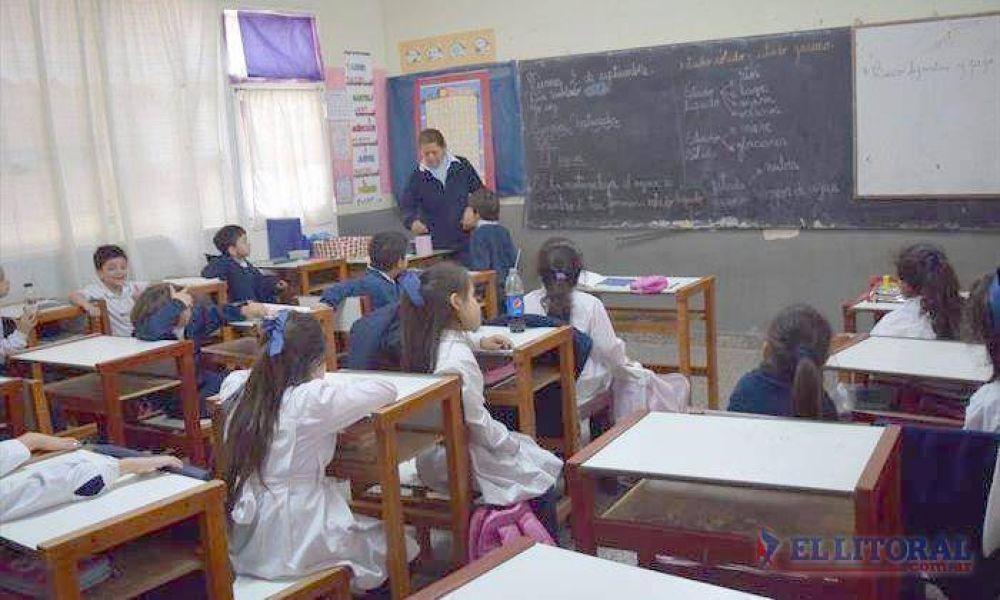 El paro nacional docente repercutirá hoy en las aulas correntinas